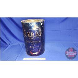 """Rybro Brand Pork Seasoning"" Large Tin (19-1/2""H x 12-1/2""Dia)"