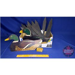 Wooden Duck Decoys (See Pics)