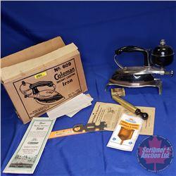 Coleman Iron No. 609 in Original Box
