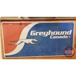 "Greyhound Canada - Metal Sign (48"" x 24"")"