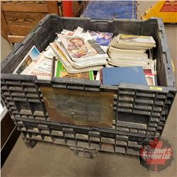 VERY LARGE TOTE LOT of Magazines (Incl. American, Saturday Evening Post, Good Housekeeping, Star Wee
