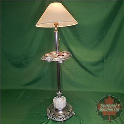 "Floor Ashtray / Lamp (38""H)"