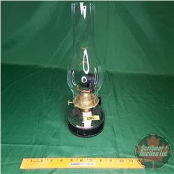 Coal Oil Lamp - Clear w/Wallmount Bracket