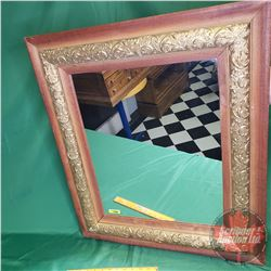 "Large Framed Mirror (26-1/2"" x 30-1/2"")"