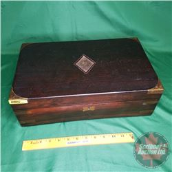 """Mahogany Lap Desk (5""""H x 15-3/4""""W x 9-1/2""""D)"""