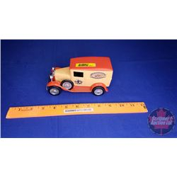 """COIN BANK: Ford Model A """"CASE"""" Limited Edition Delivery Van"""
