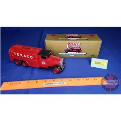"COIN BANK: 1930 Diamond T Fuel Tanker ""Texaco"""