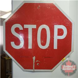 "STOP Sign (Metal/Reflective) (29-1/2"" x 29-1/2"")"