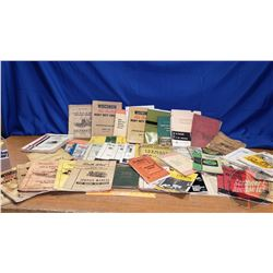 Box Lot: Variety Farm Machinery & Equipment Literature (Incl. Farmall, John Deere, IH, etc) (See Pic