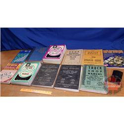 Box Lot: Variety of Shop & Repair Manuals (11) (See Pics)