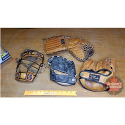 Tray Lot : Vintage Sporting Equipment (See Pics)