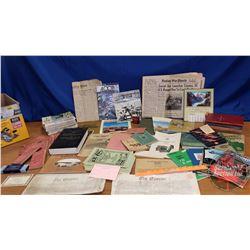 Box Lot: Vet & Horse Related Literature (See Pics)