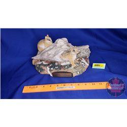 "Ducks Unlimited Chipmunk Sculpture (354/1000) (6""H x 10""L x 6""D)"