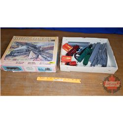 Electric Train Set Pieces : Loose in Box  (See Pics)