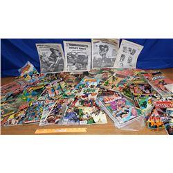 Variety Comic Books (69) & Comic Catalogs (4) (See Pics)