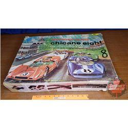 Eldon - Simpson Sears Chicane Eight 1/32 Scale Road Race Set (Loose in Orig Box)