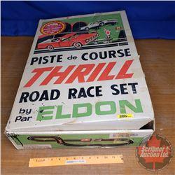 Eldon - Thrill Road Race Set (Loose in Orig Box)