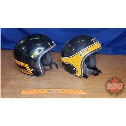 Vintage Ski-Doo Helmets (2) Sizes?