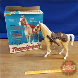 """Marx Toys """"Thunder Bolt"""" in Orig Box (Johnny West Marx Collectible Toys)"""