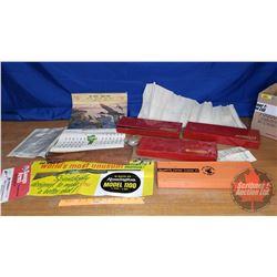 Box Lot: Gun Cleaning Kits, Calendar, etc