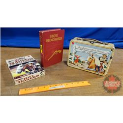 Roy Rogers Theme Combo: Lunch Kit, 2 DVD's & 1 Book