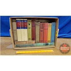 Box Lot of Zane Grey Hard Cover Books (14)