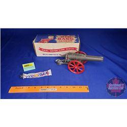 """""""Big Bang Cannon"""" w/Orig Box (Box Size: 3-1/2""""H x 3-1/2""""W x 9-1/2""""L)"""