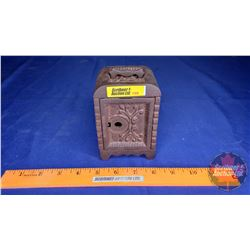 "Mini Cast Iron Safe Bank (5"" x 3-1/4"" x 2-3/4"")"