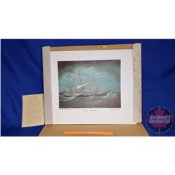 """Jardine Brothers"" Ship Print by W.H. Yorke (20"" x 24"")"