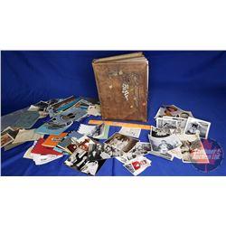 Vintage Photo Album & Variety of Photos/Post Cards