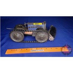 """Toy Crawler/Sweeper Wind Up Toy (5"""" x 12"""") (Made in USA Pat June 16/1916)"""