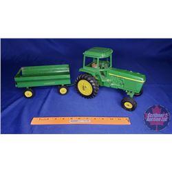 Farm Toy 1/16 Scale : John Deere & Wagon Combo