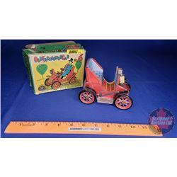 "Tin Toy Car w/Box (Box Size: 3""H x 5-1/2""W x 5-1/2""D)"