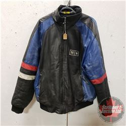 North Star Leather Jacket (Size MT)