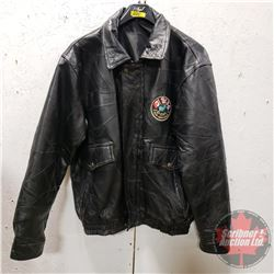 D-Day 60th Anniversary 1944-2004 Leather Coat (Size M)