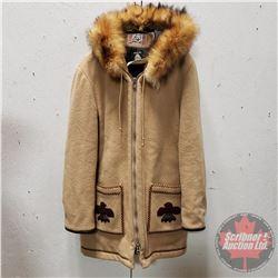 James Bay Winter Wool Coat (Hooded) (Size ?)