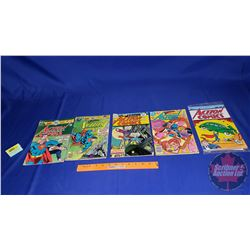 5 Action Comics (Incl. Repro of 1st Edition)