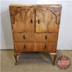 "Antique French Dresser ""Guaranteed Handmade by British Craftsman"" (43""H x 30""W x 20""D)"
