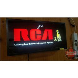 """RCA Light up Sign (10""""H x 20""""W x 4""""D)"""