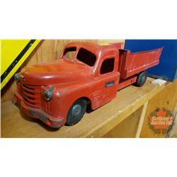 "Metal Toy - Structo Toy Dump Truck (6""H x 6-1/2""W x 19-1/2""L)"