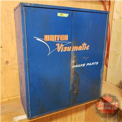 "United Visumatic Brake Parts Shop Cabinet (28-1/2""H x 25-1/2""W x 10""D)"