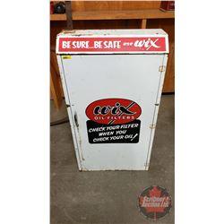 "WIX Oil Filters Shop Cabinet (38""H x 21""W x 10""D)"