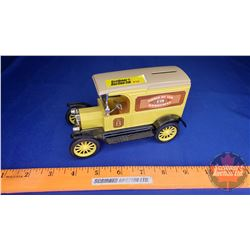 COIN BANK: Model T Home Hardware Delivery Van
