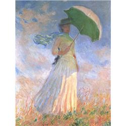 Claude Monet - Woman with Parasol