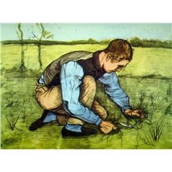 Van Gogh - Cutting Grass
