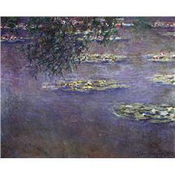 Claude Monet - Water Lilies, Water Landscape #1