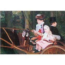 Mary Cassatt - In The Wagon