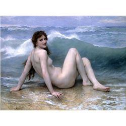 William Bouguereau - The Wave