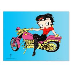 Betty Boop on Motorcycle by Betty Boop