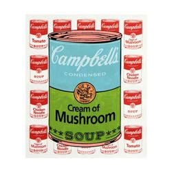 "Steve Kaufman (1960-2010), ""Campbell's Soup"" Limited Edition Hand Embellished Si"
